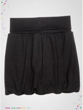 jupe-boule-enfant-coloris-noire-coton-bio-aarrekid