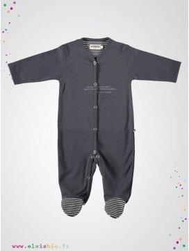 Pyjama bébé gris