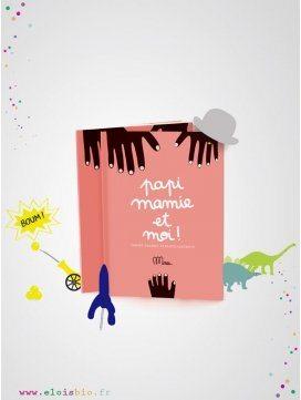 """Cahier d'activités """"Papi Mamie et moi!"""" à remplir"""