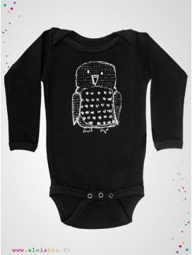 Body noir Hibou