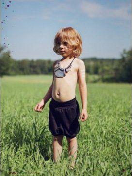 Bloomer enfant Noir coton bio