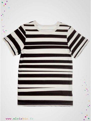 tee-shirt-enfant-imprimé-rayures-coton-bio-aarrekid