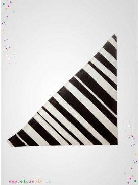 Lange / foulard Stripe coton bio