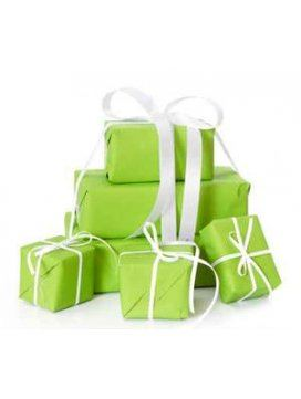 Papier Cadeau Vert