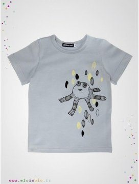 "Tee-shirt imprimé ""A Monster"" coton bio"