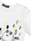 eloisbio-zoom tshirt monsters blanc