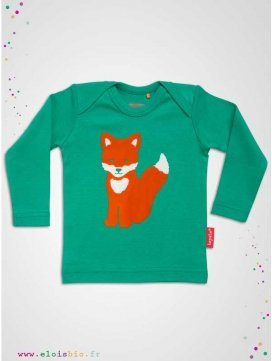 T-shirt enfant Tiffy le Renard