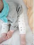 Leggings enfant lait motifs glaces