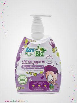 Lait de Toilette bio pour bébé et enfant