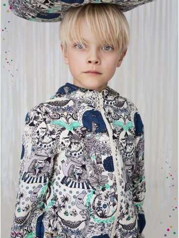 Sweat-enfant-In-the-garden-coton-bio-aarrekid