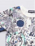 Tee-shirt-enfant-imprime-in-the-garden-coton-bio-aarrekid