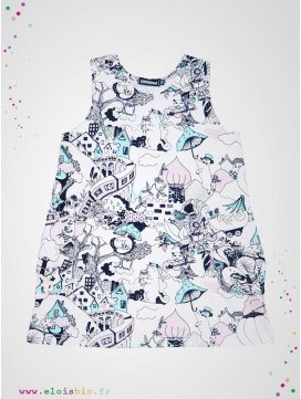 "Robe enfant ""The Valley"" coton bio"