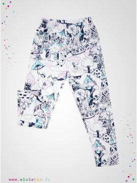 Legging enfant coton bio The Valley fabrication européenne
