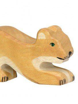 Petit Lion en bois
