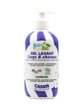 Gel Lavant Corps et Cheveux Cassis