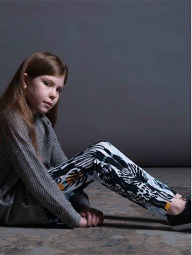 Leggings enfant Dark Forest coton bio