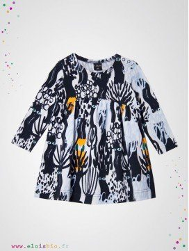 Robe enfant Dark Forest coton bio