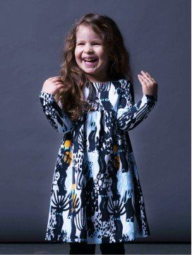 Robe enfant Dark Forest coton bio europe