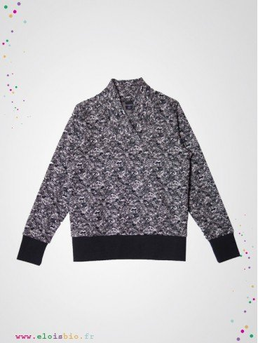 Pull enfant grandpa college coton bio fabrication portugal