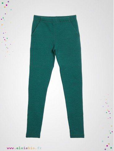 Pantalon Chino enfant coton bio fabrication Europe