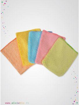 Petits gants de toilette d'apprentissage enfant