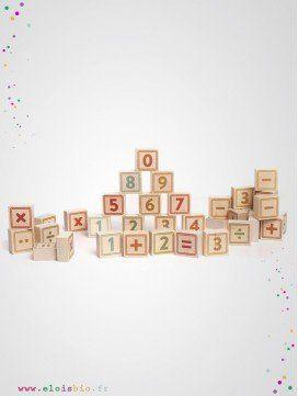 Cubes Nombres et symboles