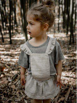 Robe tablier Aretha en coton bio
