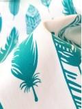 Porte-bébé bandeaux Les Plumes Vertes