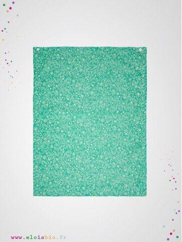 Serviette de table imprimé eucalyptus