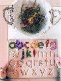 Planche alphabet