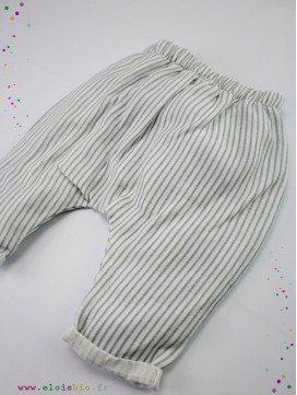 Pantalon Marlon en coton bio