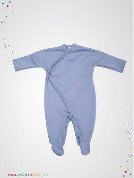 Pyjama kimono bébé bleu