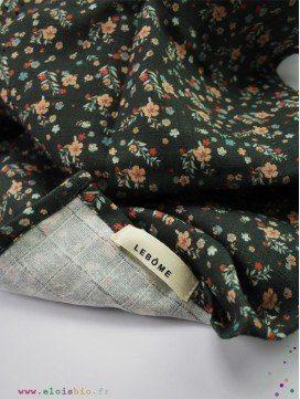 Maxi-Lange Harlow Fleurs vert