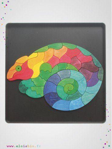 Puzzle magnétique Caméléon