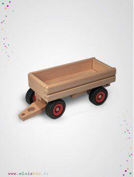 Remorque camion en bois