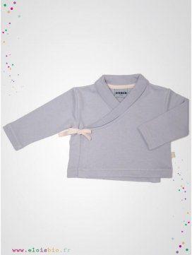 eloisbio-veste kimono cool-grey bebobio