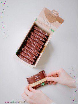 Lot de 12 carrés de céréales Cho-Chocolat, Snacks Jolly Mama