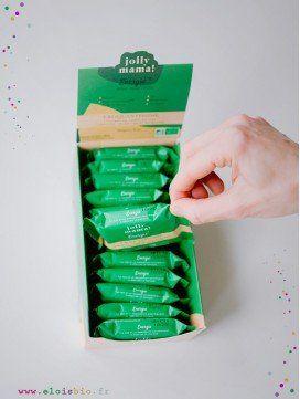 Lot de 12 carrés de céréales Croquantissime, Snacks Jolly Mama