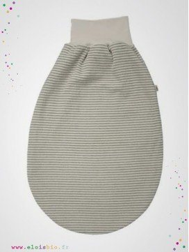 Gigoteuse bébé d'emmaillotage coton bio
