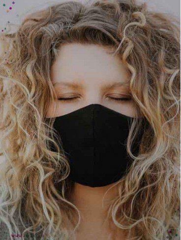 Masque en tissu lavable enfant et adulte coton bio
