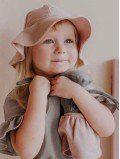 Chapeau de soleil enfant coton bio
