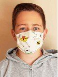 Lot de 3 masques en tissu enfant et ado - Coton Bio