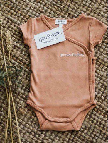 lot body bébé breastfeeling coton bio you&milk