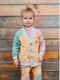 Cardigan enfant coton bio - Close Me - 2 coloris