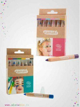 Kit de 6 crayons de maquillage bio