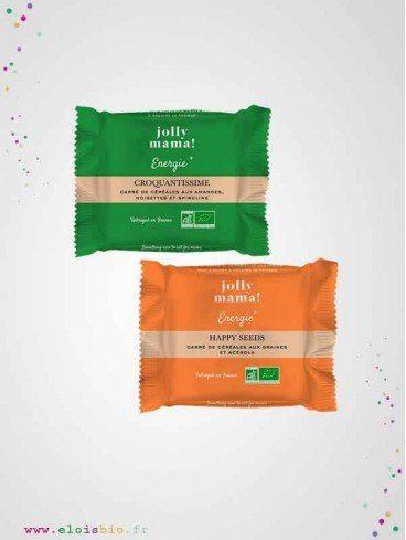 Coffret Découverte Energie, Snacks Jolly Mama