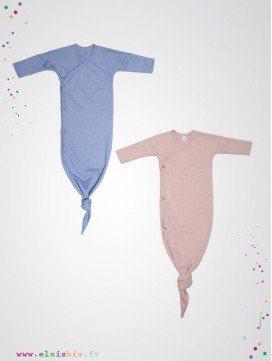 Gigoteuse kimono bébé coton bio - 2 coloris