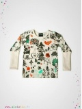 "T-Shirt ""Enchanted Forest"" manches longues"