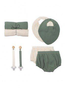 coffret-cadeau-naissance-unisexe-mousseline-coton-bio-bébé-wooly-organic-eloisbio