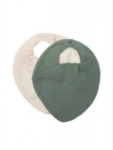 pack-2-bavoirs-unisexe-mousseline-coton-bio-bébé-wooly-organic-eloisbio
